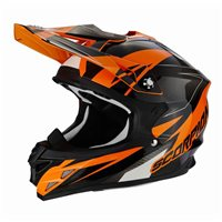 Scorpion Exo VX-15 Krush Moto-X Helmet (Orange)