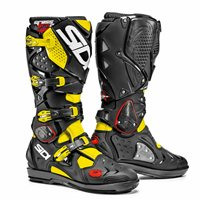 Sidi Crossfire 2 SRS Motocross Boots (Yellow Fluo/Black)