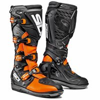 Sidi X3 Xtreme SRS Motocross Boots (Black/Fluo Orange)