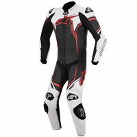 Alpinestars GP Plus One Piece Leathers (Black/White/Red)