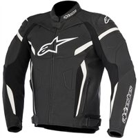 Alpinestars Gp Plus R V2 Leather Jacket (Black/White)
