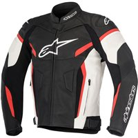 Alpinestars Gp Plus R V2 Leather Jacket (Black/White/Red)