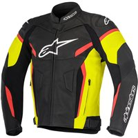 Alpinestars Gp Plus R V2 Leather Jacket (Black/Yellow/Red)