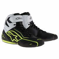 Alpinestars Faster 2 WP Motorcycle Shoe (Black/Fluo Yellow)
