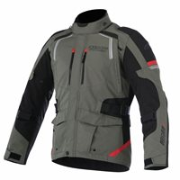 Alpinestars Andes Drystar v2 Jacket ( Military Green/Black/Red)