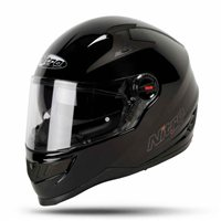 Nitro N2200 Motorcycle Helmet (Gloss Black)