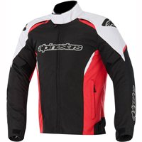 Alpinestars Gunner Textile Jacket (Black/White/Red)