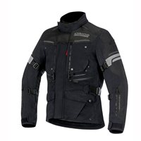 Alpinestars Valparaiso 2 Drystar Textile Jacket (Black/Grey/Red)