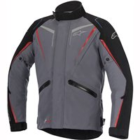 Alpinestars Yokohama Drystar Textile Jacket (Grey/Black/Red)