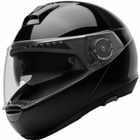 Schuberth C4 Flip Front Motorcycle Helmet (Gloss Black)