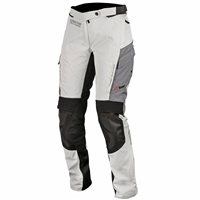 Alpinestars Andes Drystar v2 Motorcycle Trousers (Light Grey/Black)