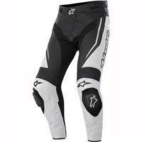 Alpinestars Track Leather Trousers (Black/White)