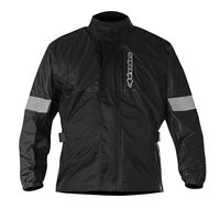 Alpinestars Hurricane Rain Jacket (Black)