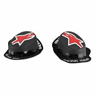 Alpinestars Gp Rain Knee Slider (Black/Red)
