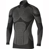 Alpinestars Ride Tech Winter Tech Layer Long Sleeve Top (Black/Grey)