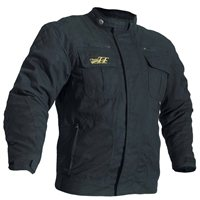 RST Classic TT Short Textile Wax Jacket 1878 (Black)