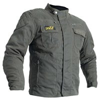 RST Classic TT Short Textile Wax Jacket 1878 (Brown)