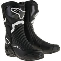 Alpinestars SMX-6 v2 Motorcycle Boot (Black/White)