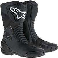 Alpinestars SMX-S Motorcycle Boot (Black)