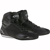 Alpinestars Faster 2 Motorcycle 2 Shoe (Black/Sliver)