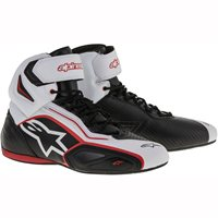 Alpinestars Faster 2 Motorcycle 2 Shoe (Black/White)