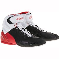 Alpinestars Faster 2 Motorcycle 2 Shoe (Black/White/Red)