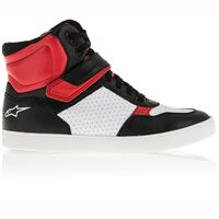 Alpinestars Lunar Motorcycle Shoe (Black/White/Red)