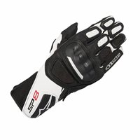 Alpinestars SP-8 v2 Motorcycle Gloves (Black/White)