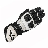 Alpinestars Gp Plus R Motorcycle Glove (Black/White)