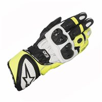 Alpinestars Gp Plus R Motorcycle Glove (Black/White/Fluo Yellow)