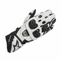 Alpinestars Gp Pro R2 Motorcycle Glove (Black/White)