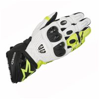 Alpinestars Gp Pro R2 Motorcycle Glove (Black/White/Fluo Yellow)