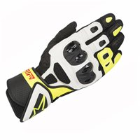 Alpinestars SP Air Motorcycle Glove (Black/White/Yellow)