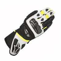 Alpinestars SP-1 Motorcycle Gloves (Black/White/Yellow)