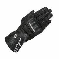 Alpinestars SP-8 v2 Motorcycle Gloves (Black/Dark Grey)