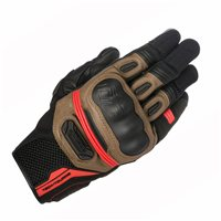 Alpinestars Highlands Motorcycle Glove (Black/Brown)