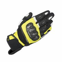 Alpinestars SPX Air Carbon Motorcycle Glove (Black/Fluo Yellow)