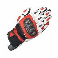 Alpinestars SPX Air Carbon Motorcycle Glove (Black/White/Red)