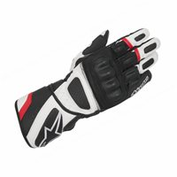 Alpinestars SP-Z Drystar Motorcycle Glove (Black/White/Red)