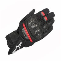 Alpinestars Rage Drystar Motorcycle Glove (Black/Red)