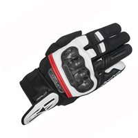 Alpinestars Rage Drystar Motorcycle Glove (Black/White/Red)