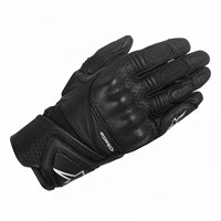 Alpinestars Stella Baika Leather Motorcycle Glove (Black)