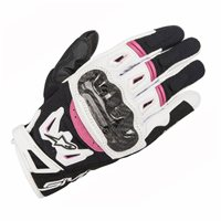Alpinestars Stella SMX-2 Air Carbon v2 Glove (Black/White/Fuchsia)