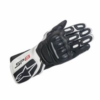 Alpinestars Stella SP-8 v2 Motorsport Gloves (Black/White)