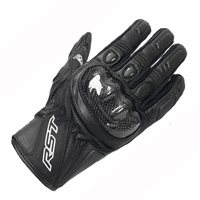 STUNT III CE Motorcycle Glove 2123 (Black)  by RST