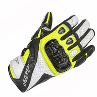 RST STUNT III CE Motorcycle Glove 2123 (Fluo Yellow)