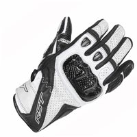 RST STUNT III CE Motorcycle Glove 2123 (White)