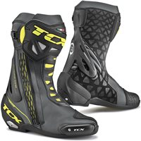 TCX RT-RACE Motorcycle Boot (Black/Fluo Yellow)