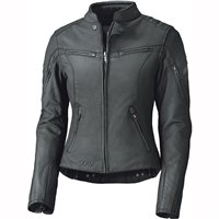 Held Cosmo 3.0 Womens Leather Motorcycle Jacket (Black)