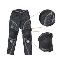 Wulfsport Kids Alpina Advance Motorcycle Trousers (Black)